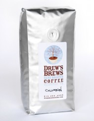 columbian coffee drews brews